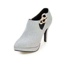 Sexy Sanding High Heeled Women Shoes -