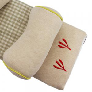Cotton Pillow Baby Adjustable Washable Cartoon Embroidery -