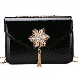 Trend Simple Chain Tassel Shoulder Messenger Bag -