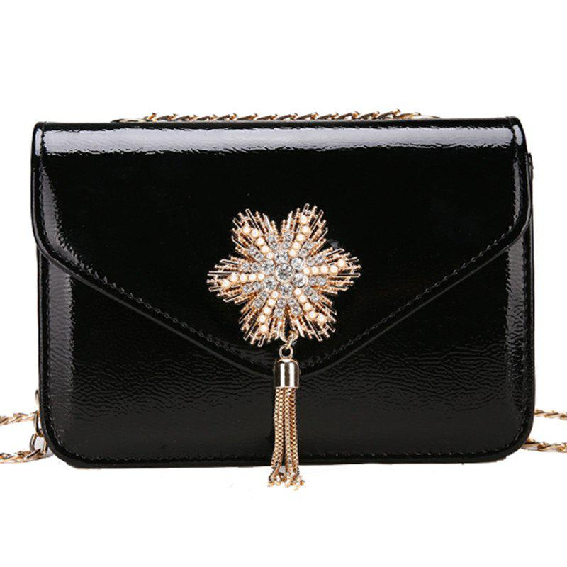 Discount Trend Simple Chain Tassel Shoulder Messenger Bag