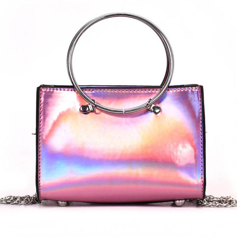 Outfits Hoops Handbag Shiny Shoulder Crossbody Bag