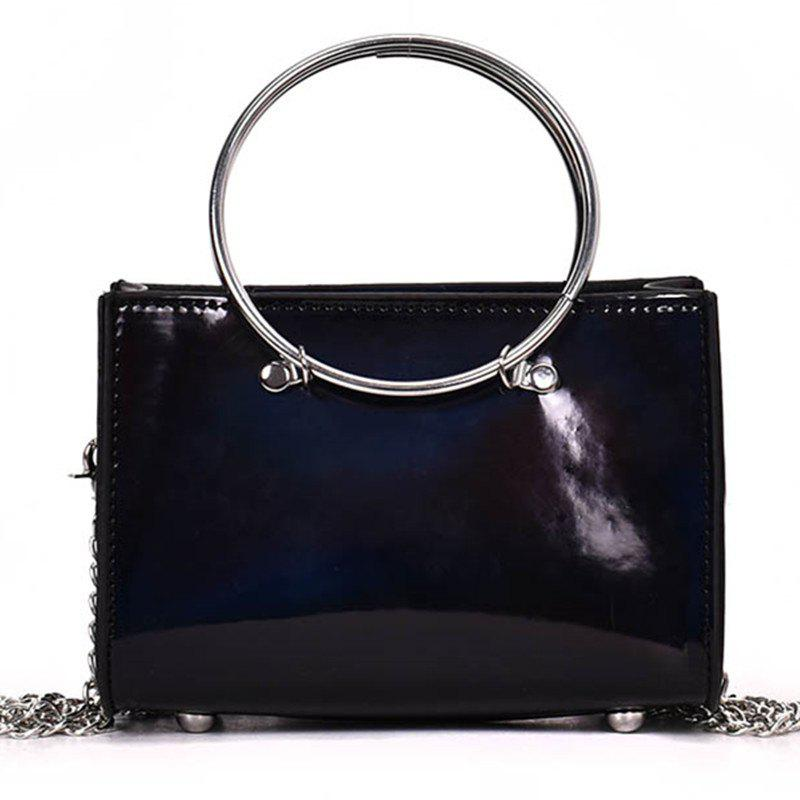 Latest Hoops Handbag Shiny Shoulder Crossbody Bag