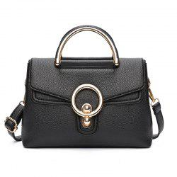 Fashion Ring Shoulder Messenger Bag Hadbag -