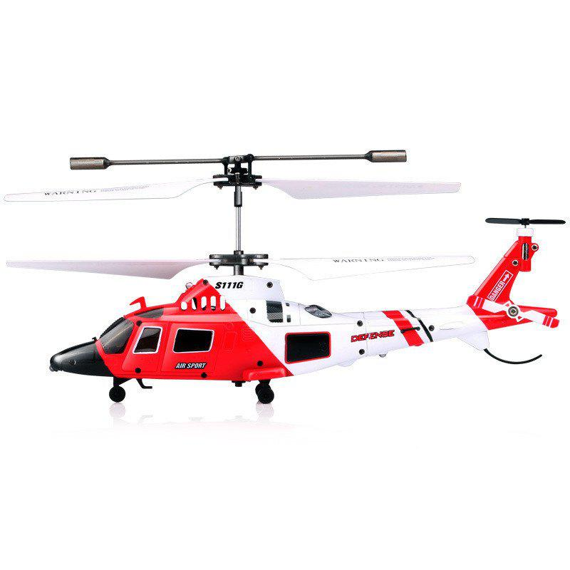 Chic S111G 3.5CH Remote Control with LED Light RC Helicopter