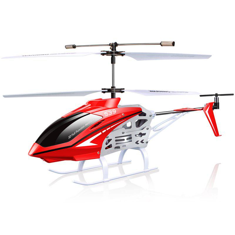 Cheap S39 RC Helicopter Aircraft 3.5CH 2.4GHz Gyro Flashing Light Remote Control Toy