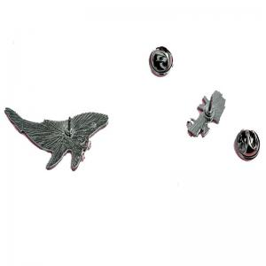 Astronauts Into Space Whales Drip Brooch Coat Collar Needle Accessories -