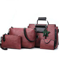 Women's Fashion Wild Four-piece Shoulder Messenger Bag Handbags -