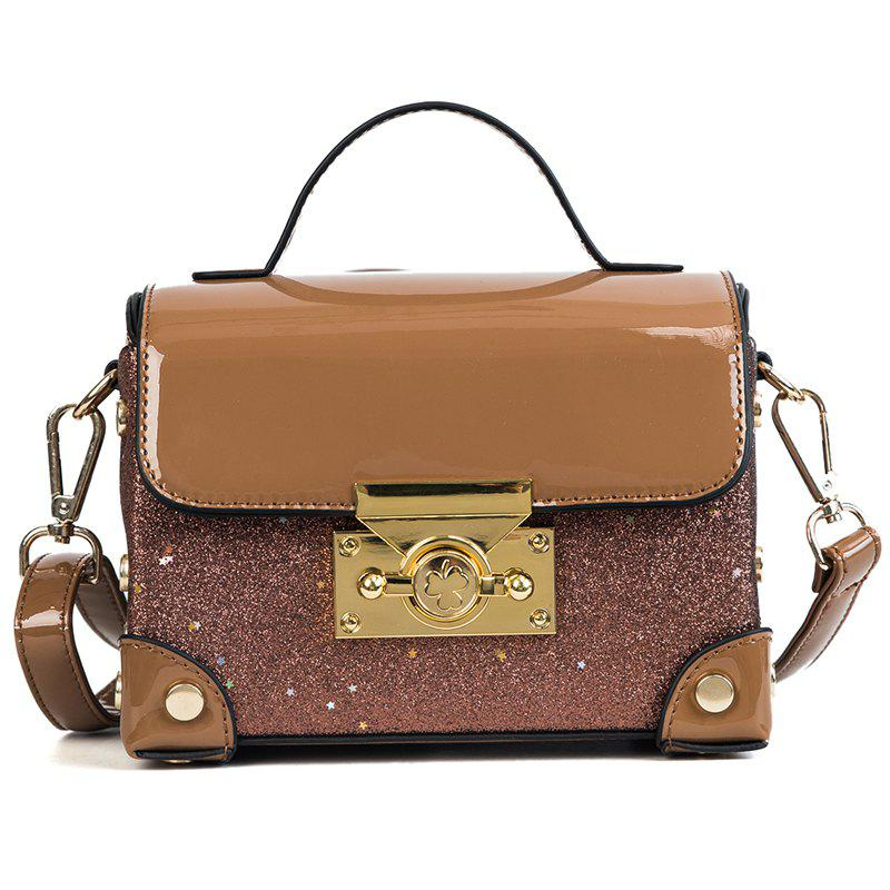 Discount Female Crossbody Light Box Bag Handbag