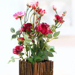 Rural Household Decoration Potted Art Flowers -