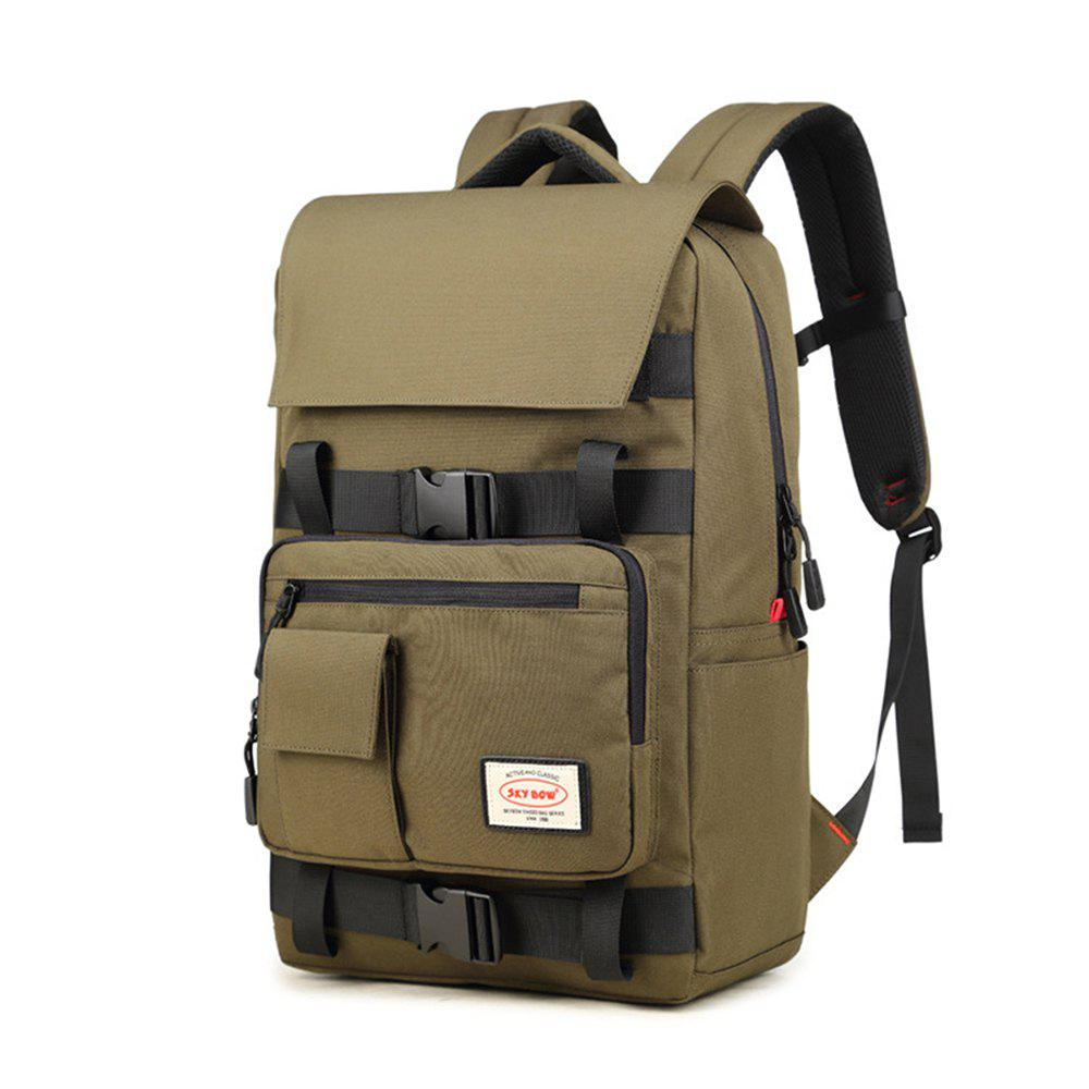 Latest Men Oxford Cloth Climbing Bag Large Capacity Computer Backpack