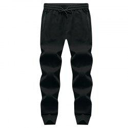Pocket Zipper Men's Casual Jogging Pants Sports Trousers -