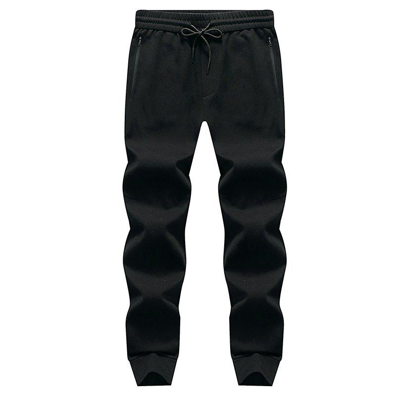 Shops Pocket Zipper Men's Casual Jogging Pants Sports Trousers