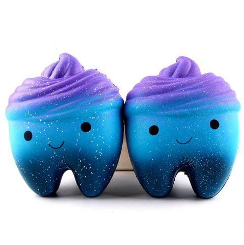 Outfits Teeth Model Jumbo Squishy Slow Rebound Children Decompression Toys 1PC