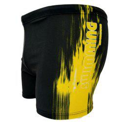 Men's Flat Point Sports Beach Swimming Trunks -