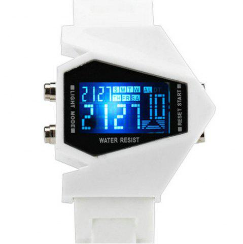 Lucky Family G1166 Lucky Family LED Creative Plane Shaped Watch