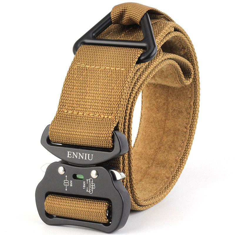 Sale ENNIU Quick Dry Multi-Function Tactical Military Nylon Belt with Metal Buckle