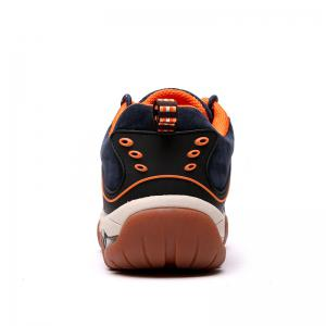 Men's Metal Button Breathable Non-slip Outdoor Sport Hiking Sneakers -