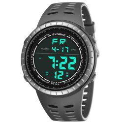 SYNOKE 9688 Sports en plein air étudiant grand cadran montre électronique -