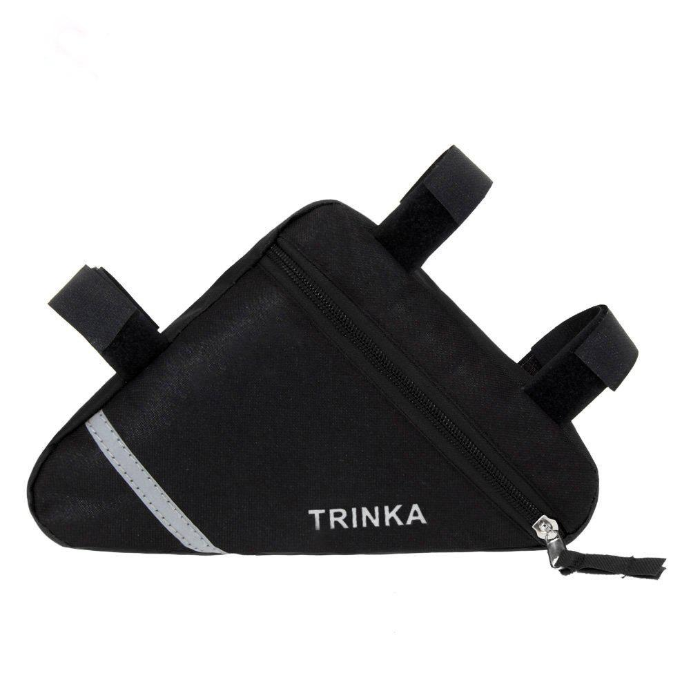 Latest Waterproof Triangle Bags Bike Bicycle Front Tube Frame Pouch Saddle Bag