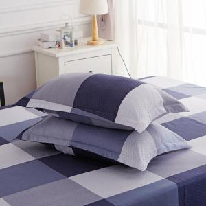 Duvet Cover Set Classic Plaids Pattern Home Brief Style Bedding -