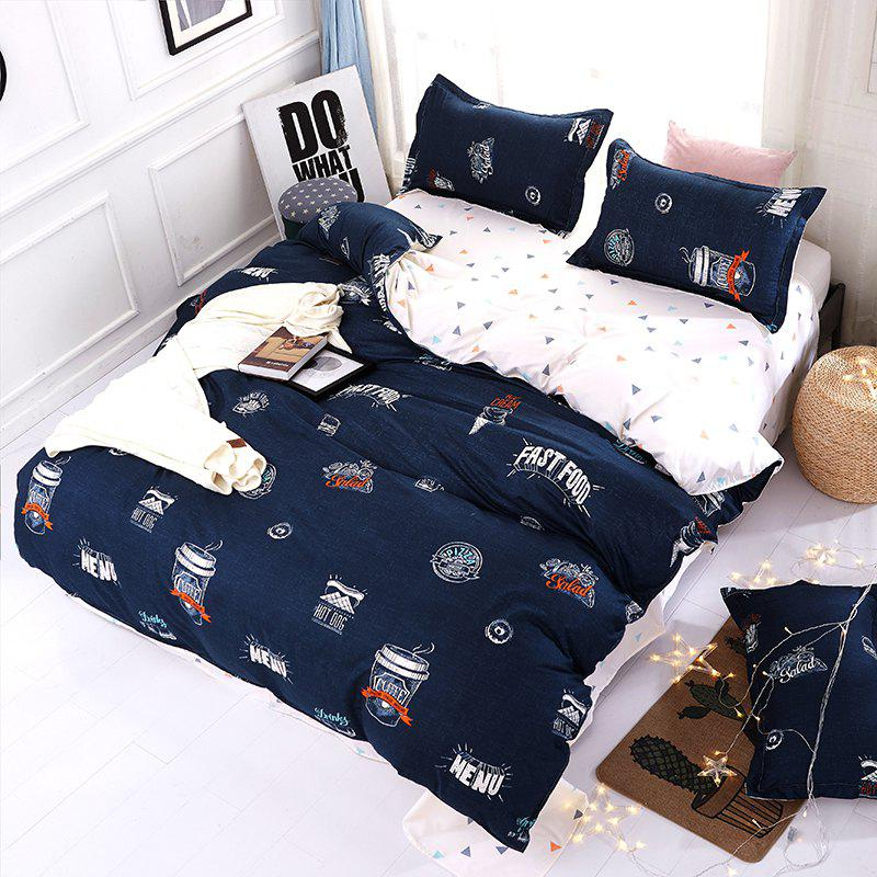 Shop Bedclothes Set Voguish Cool Pattern Comfortable Cozy Duvet Cover