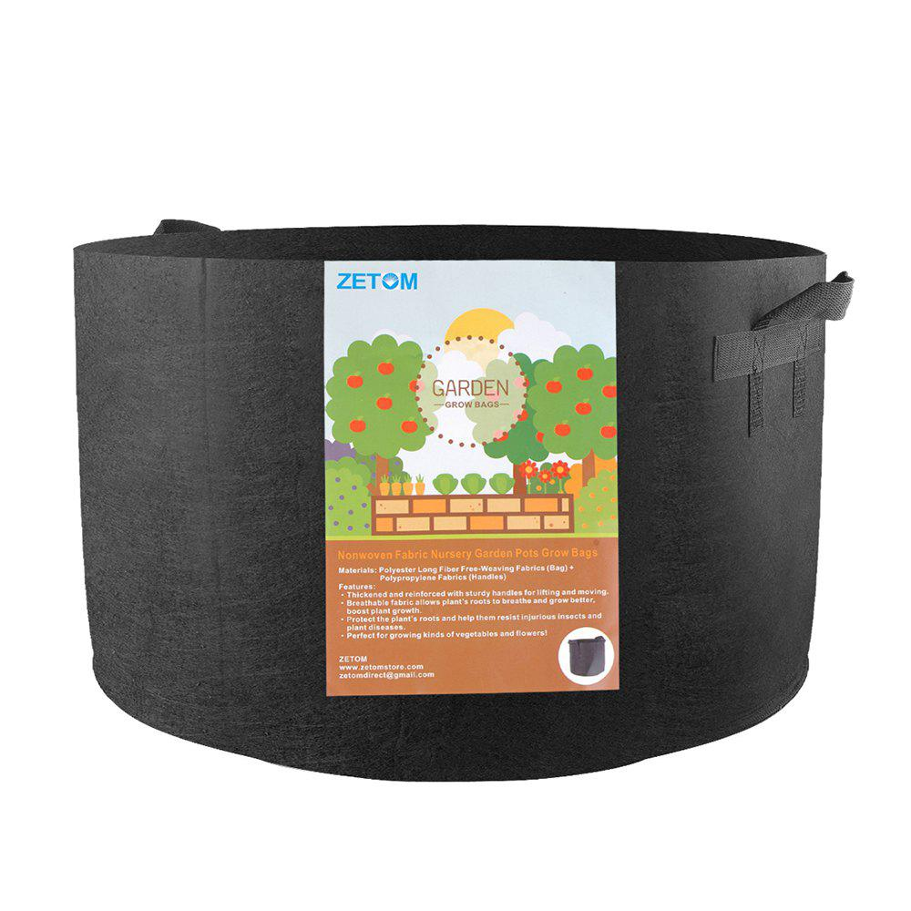 Trendy ZETOM Grow Bags, 20 Gallon Thickened Nonwoven Fabric Pots Nursery Garden Pots with Handles Plant Container