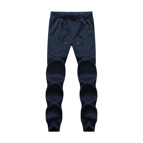 Affordable Male Jogging Pants Waist Pulling Rope Pants