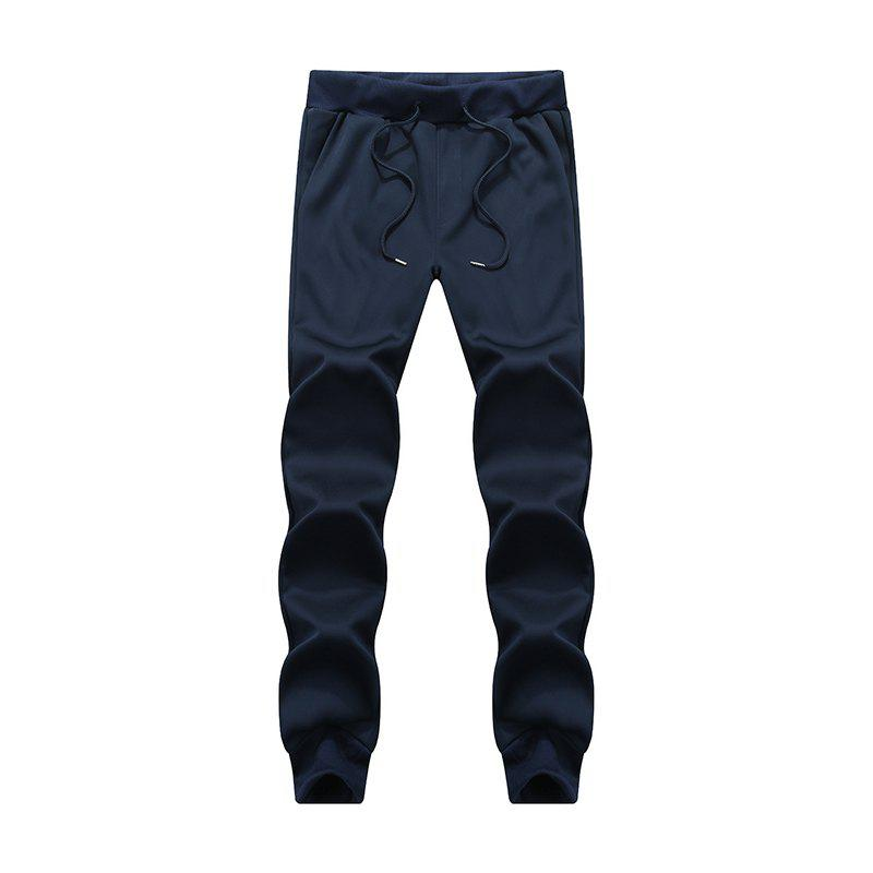 Latest Male Jogging Pants Waist Pulling Rope Pants