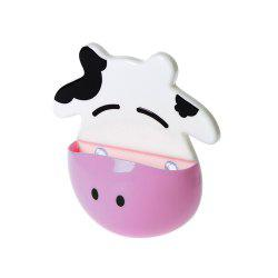 Cartoon Cow Shape Toothbrush Holder -