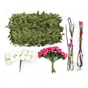 Plant Green Fine Rattan 40 Meters Artificial Leaf Flower Decoration -