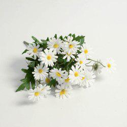 Daisies Decorated Artificial Flowers -