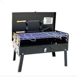 Foldable Portable Charcoal Barbecue Grill -