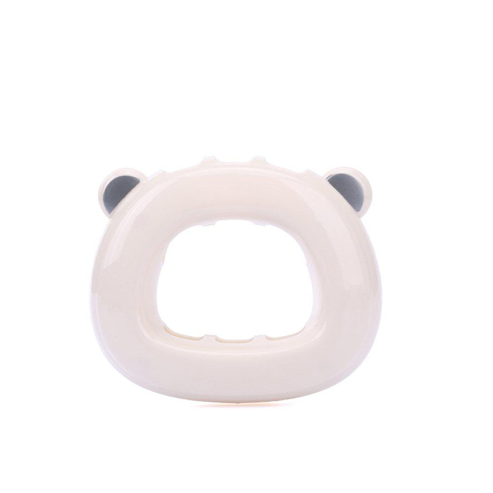 Chic Punch-Free Suction Bear Toothbrush Holder