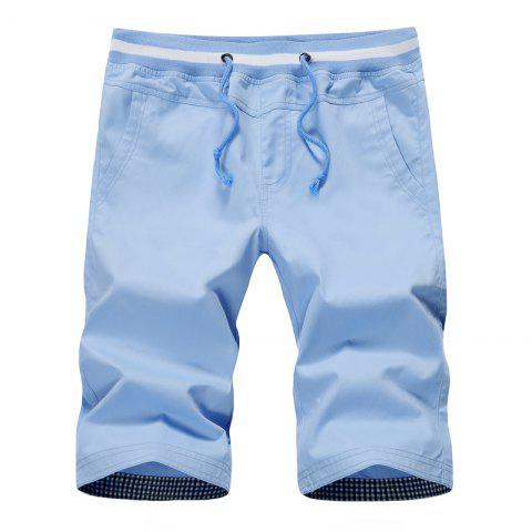 Latest Man Cotton Frenulum Shorts