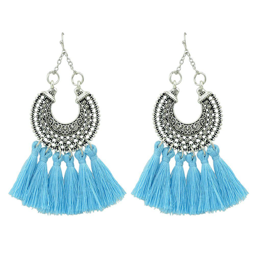 Best Colorful Long Tel Drop Ethnic Earrings