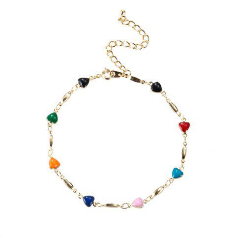 New Fashion Heart Connected Elegant Anklet