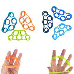 Finger Extensor Resistance Bands Stress Relief Exercise for Hands 6PCS -
