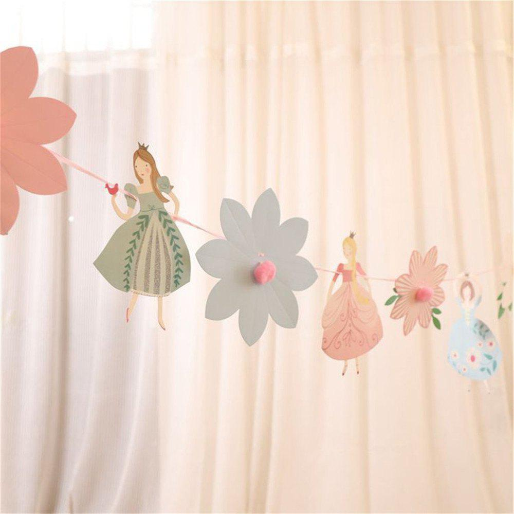 Fashion The Princess Wedding Paper Garlands For Baby Birthday Shower