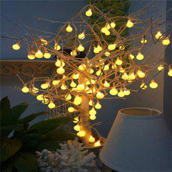 40 LED Small Round Ball Warm White Decorative Lamp String -