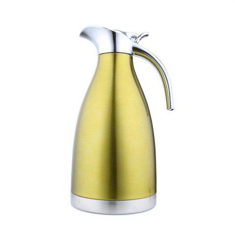 Cheap 2L Stainless Steel Coffee Cold Drink Kettle Household Water Pitcher Bottle 68 OZ
