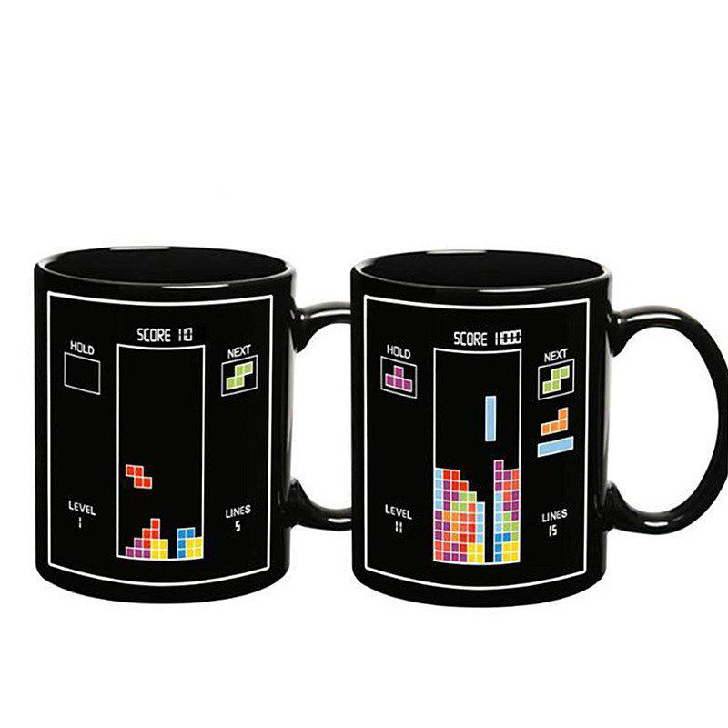 New BALDR Earth Mark Cup Tetris The Heat Change Thermal Color Mugs
