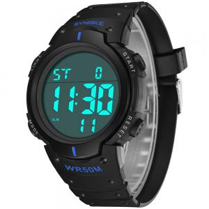 SYNOKE 9668Multi-Fonction Night Light Montre de sport en plein air -