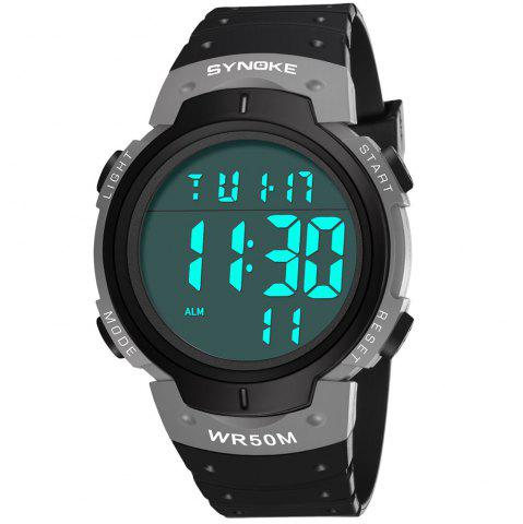 SYNOKE 9668Multi-Function Night Light Outdoor Sports Watch
