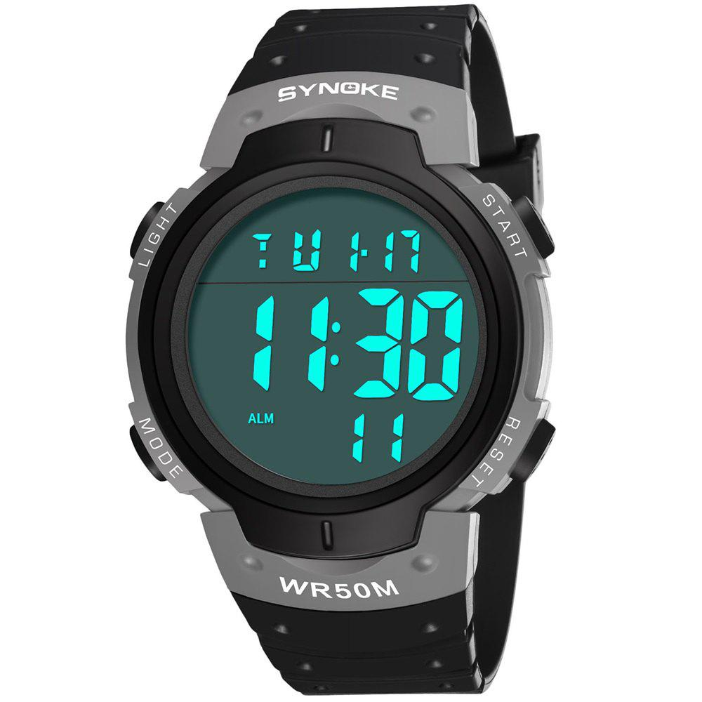 Trendy SYNOKE 9668Multi-Function Night Light Outdoor Sports Watch