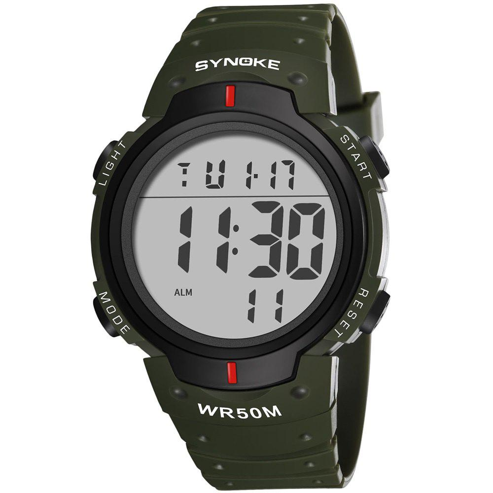 Outfits SYNOKE 9668Multi-Function Night Light Outdoor Sports Watch