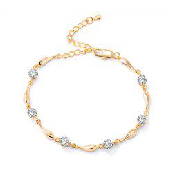 Cheville de zircon Droplet simple -