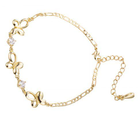Best Dance Zircon Anklet
