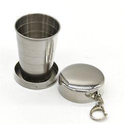 Portable Stainless Steel Telescopic Cup -