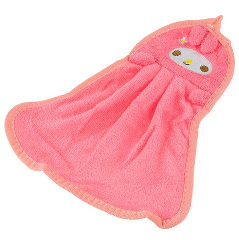 Cheap Cute Cartoon Super Soft Coral Towel
