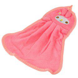 Cute Cartoon Super Soft Coral Towel -